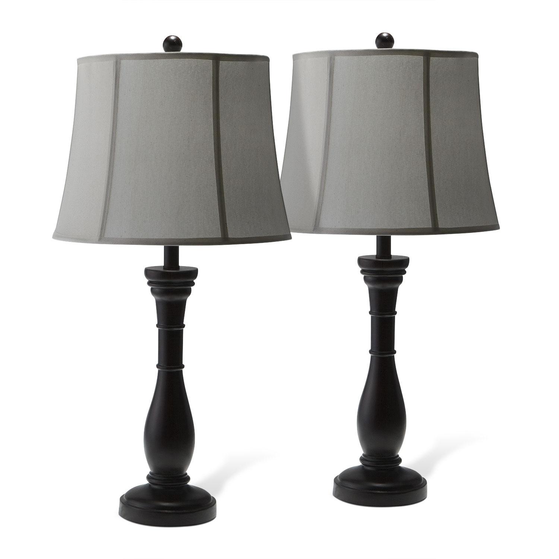 Annette 2 Pack Table Lamp Set