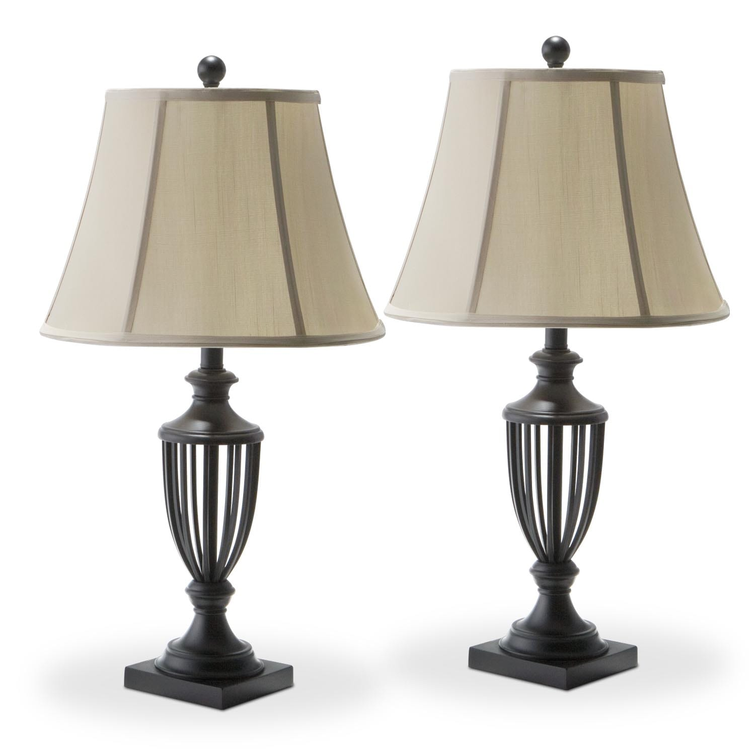 Home Accessories - Mason 2-Pack Table Lamps