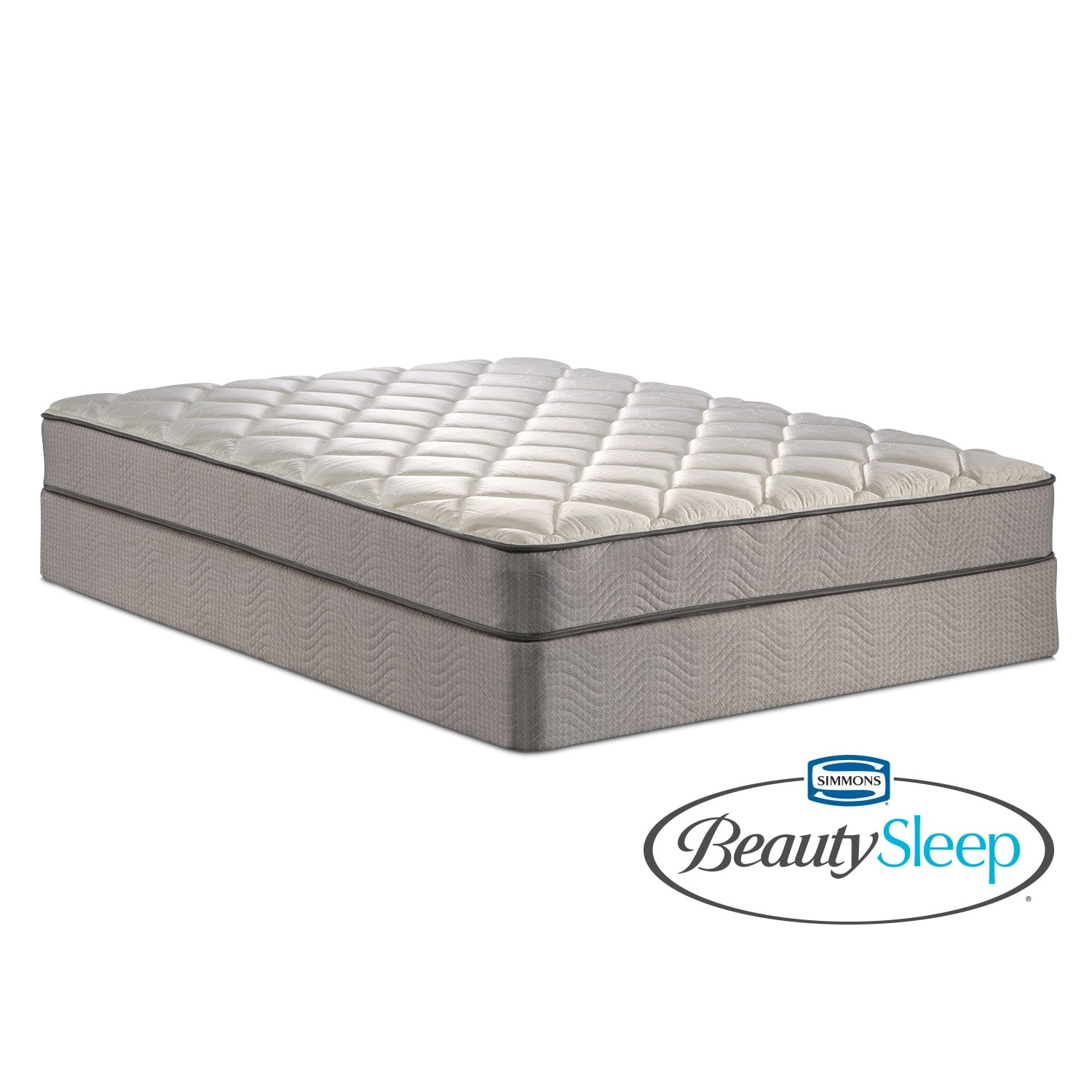 Mattresses and Bedding - Gates Way Plush Twin Mattress and Low-Profile Foundation Set