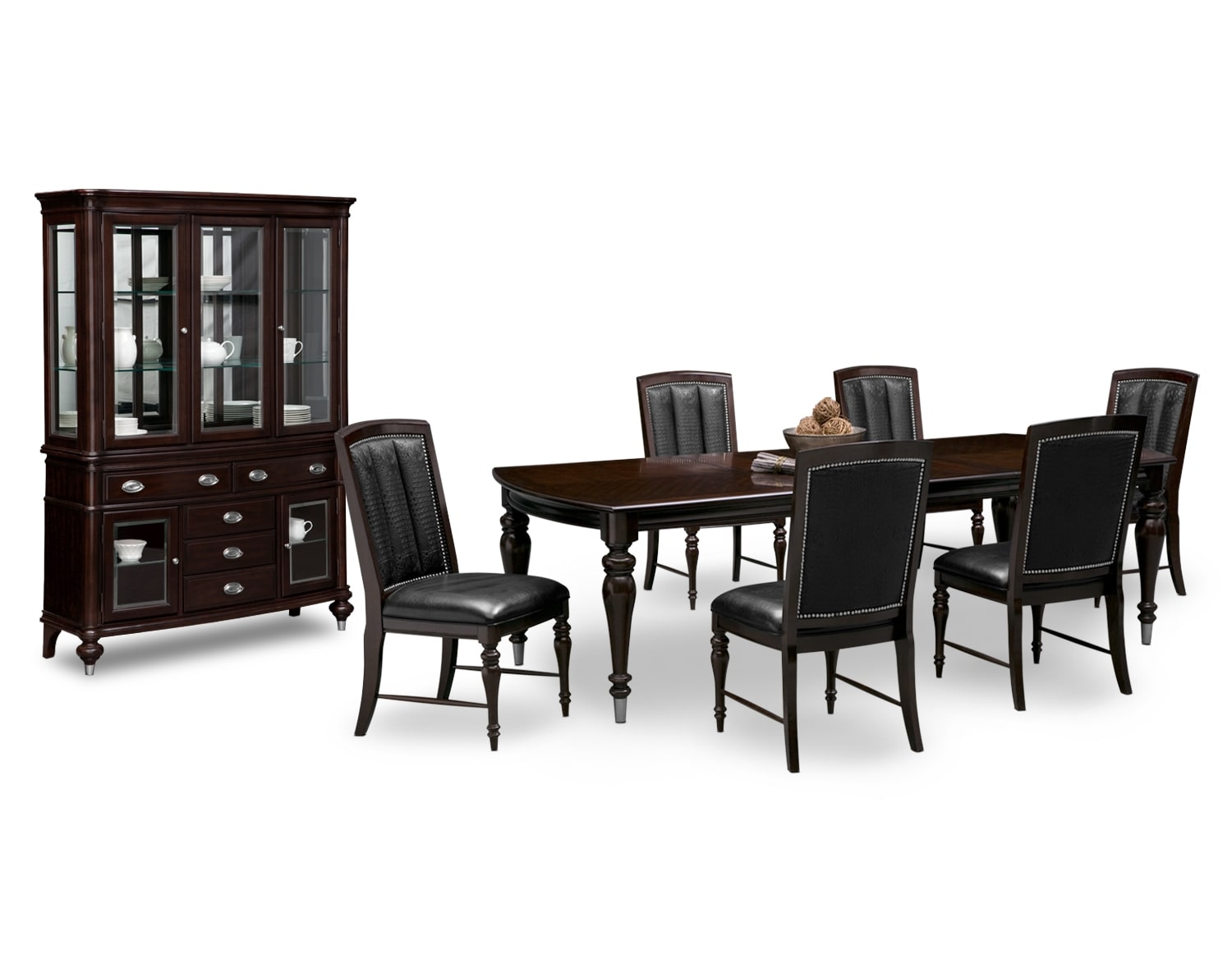 Black and white dining room sets - The Esquire Collection Cherry