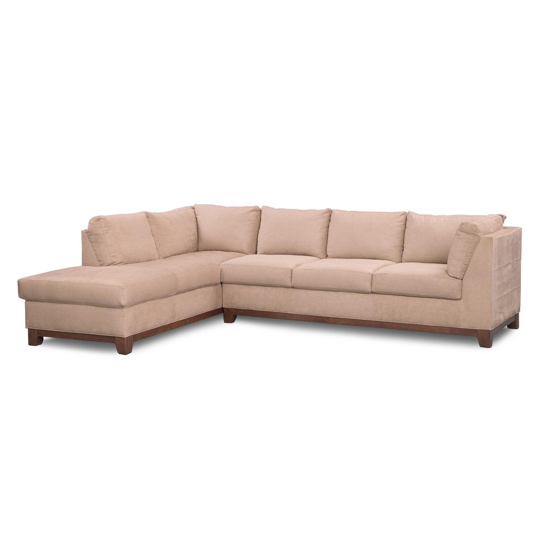 Soho Ii 2 Pc Sectional Reverse Value City Furniture