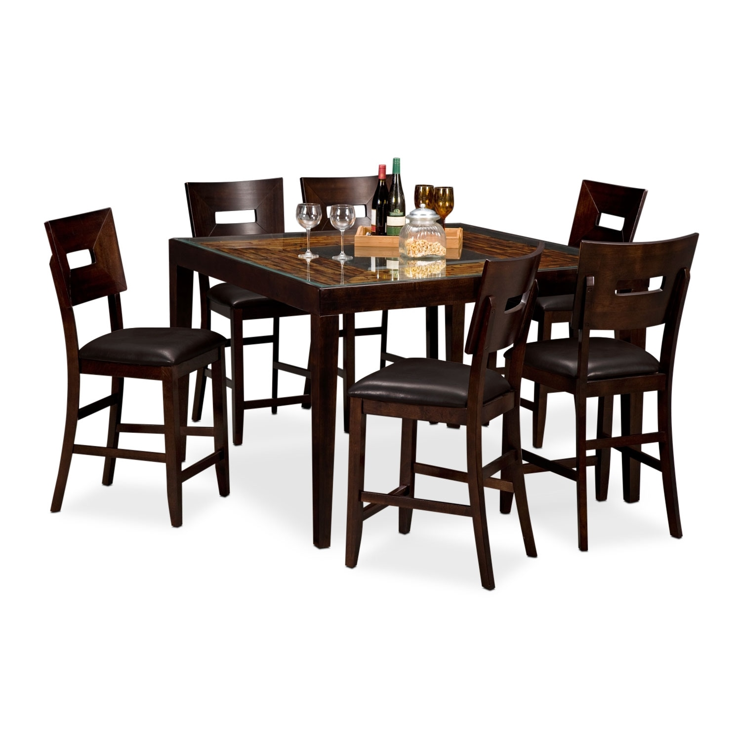 Cyprus II 7 Pc. Counter-Height Dinette