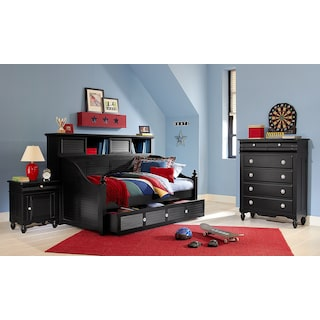 The Seaside Daybed Collection - Black