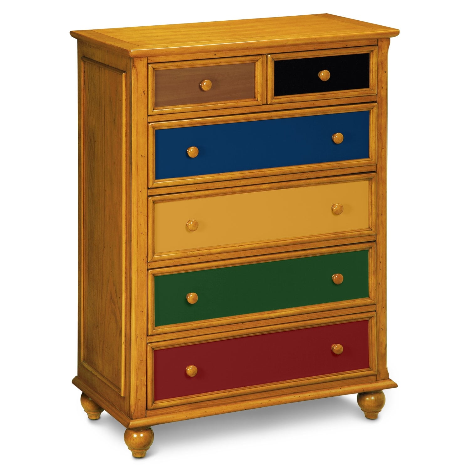 $399.99 Colorworks Chest   Honey Pine