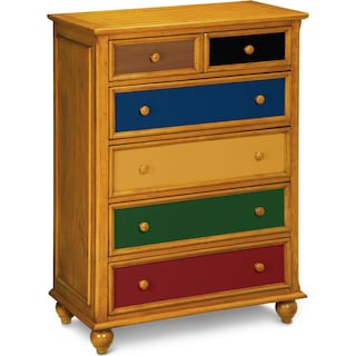 Colorworks Chest - Honey Pine