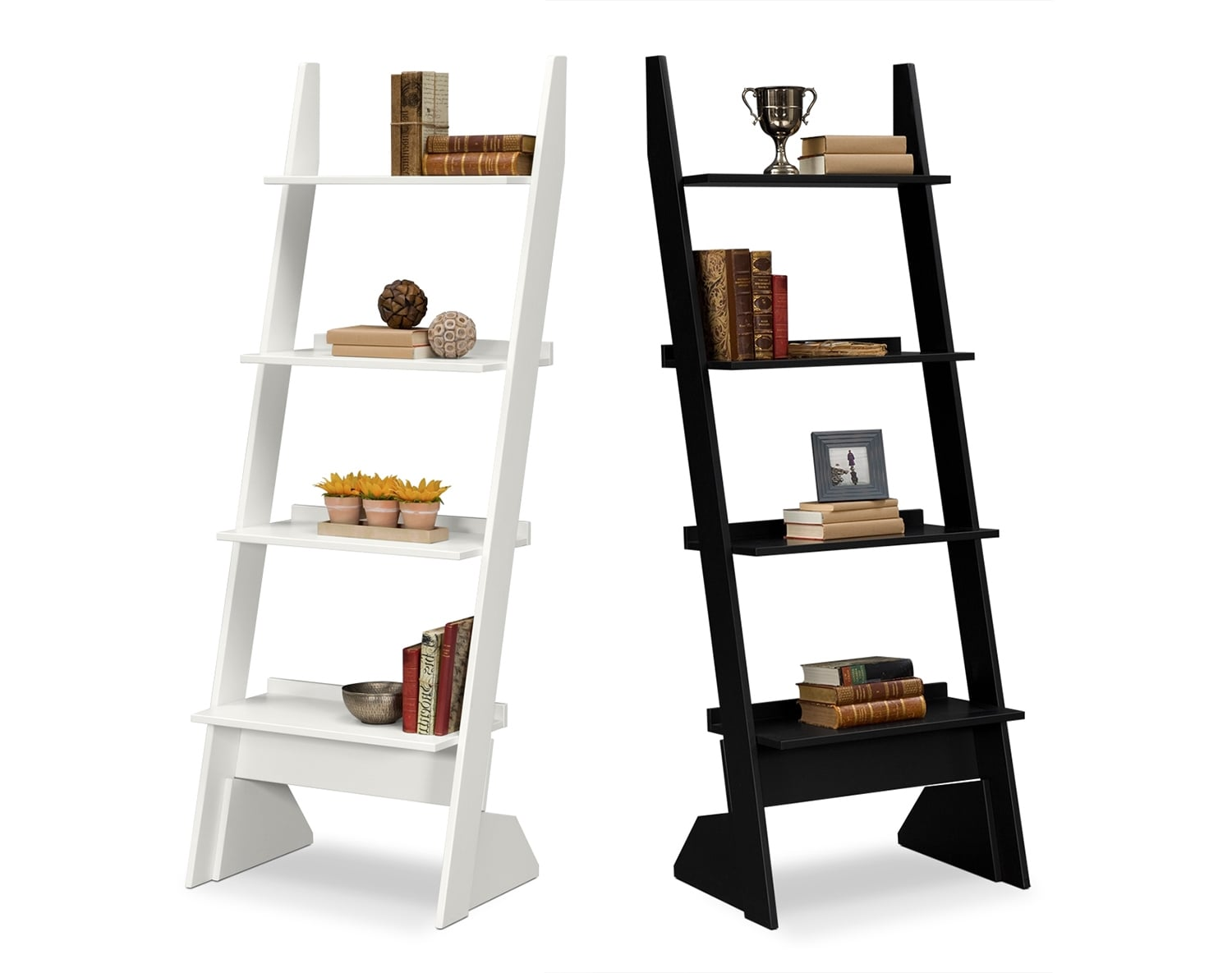 The Plantation Cove Leaning Bookshelf Collection