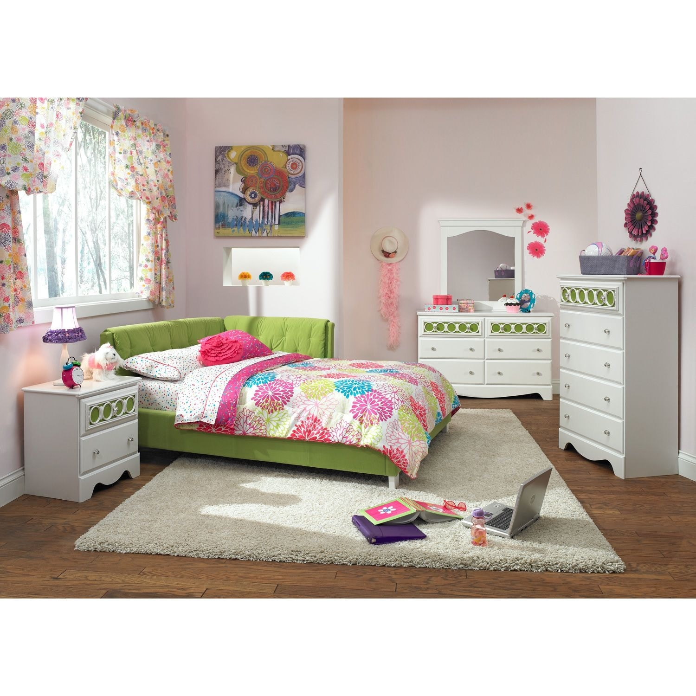 Jordan Full Corner Bed Green