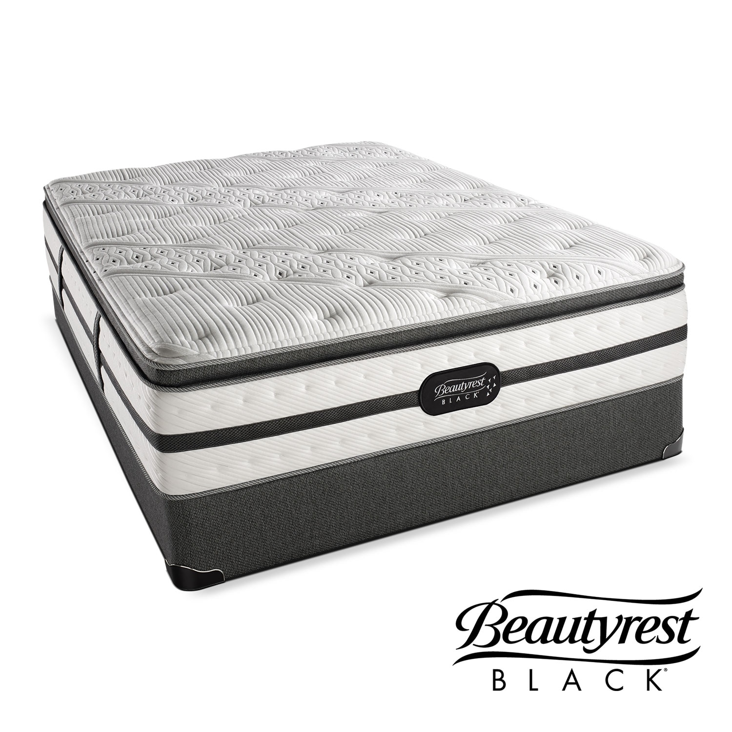 [Evie Plush PT Full Mattress/Foundation Set]
