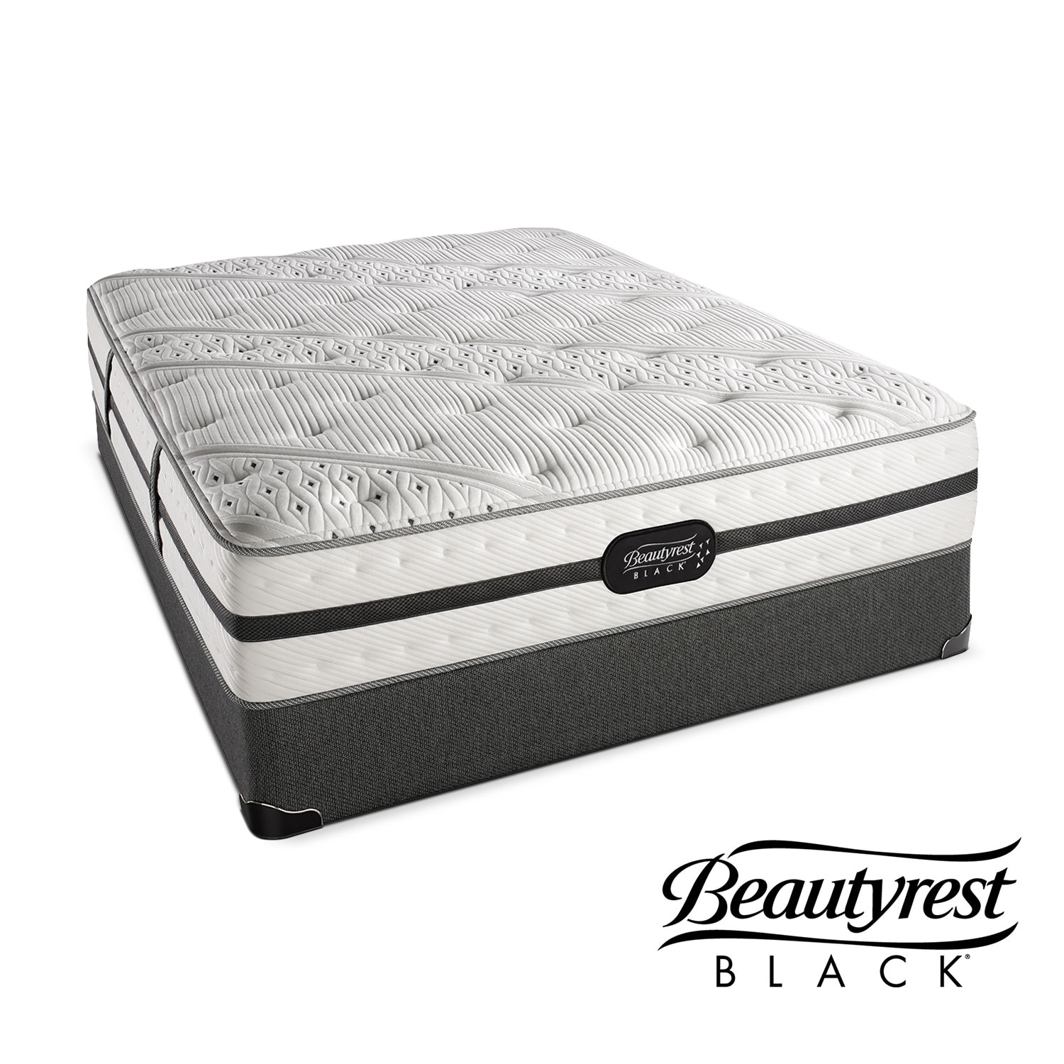 [Ava Plush Full Mattress/Foundation Set]