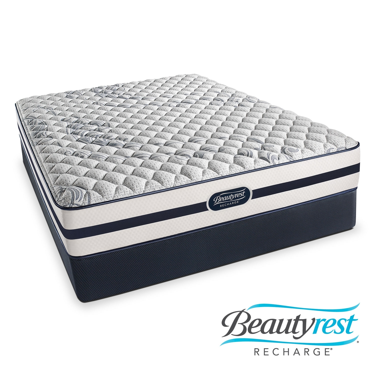 Mattresses and Bedding - Alisa Firm Twin Mattress and Foundation Set