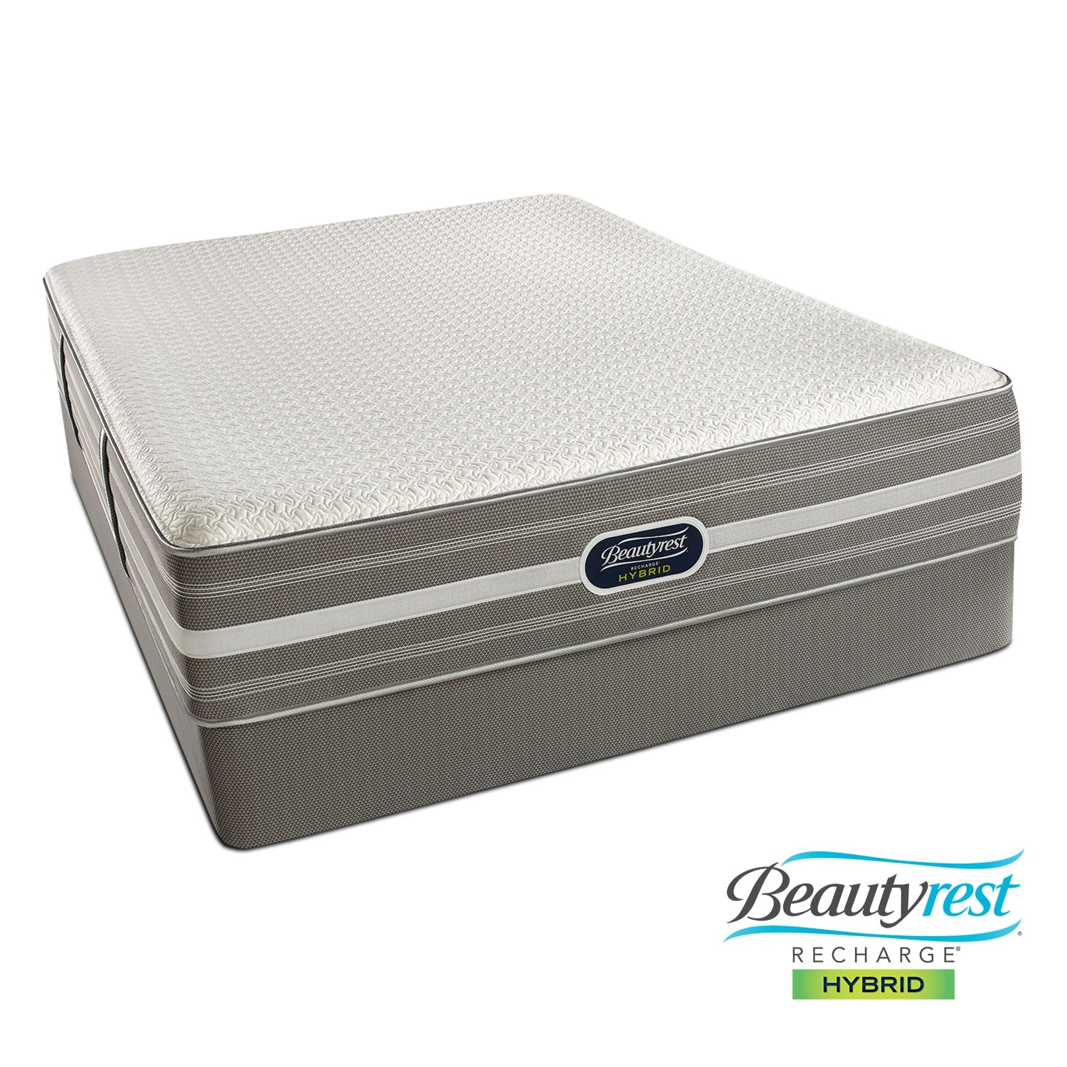 Mattresses and Bedding - Hopewell Luxury Firm Queen Mattress/Foundation Set