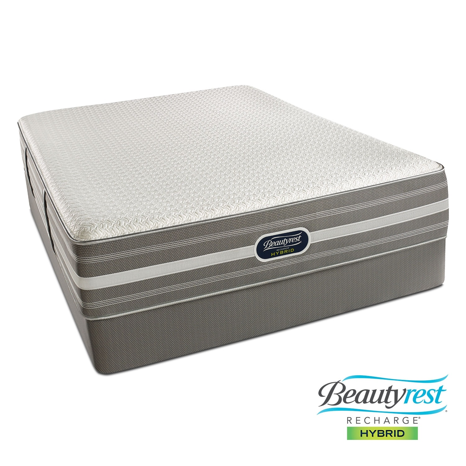 Mattresses and Bedding - Lamour Plush Queen Mattress/Split Foundation Set