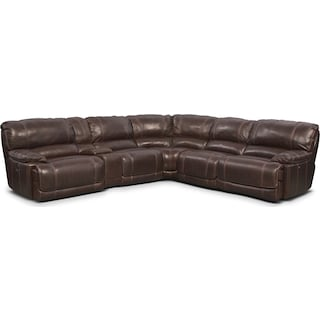 St. Malo 6-Piece Power Reclining Sectional with 3 Reclining Seats