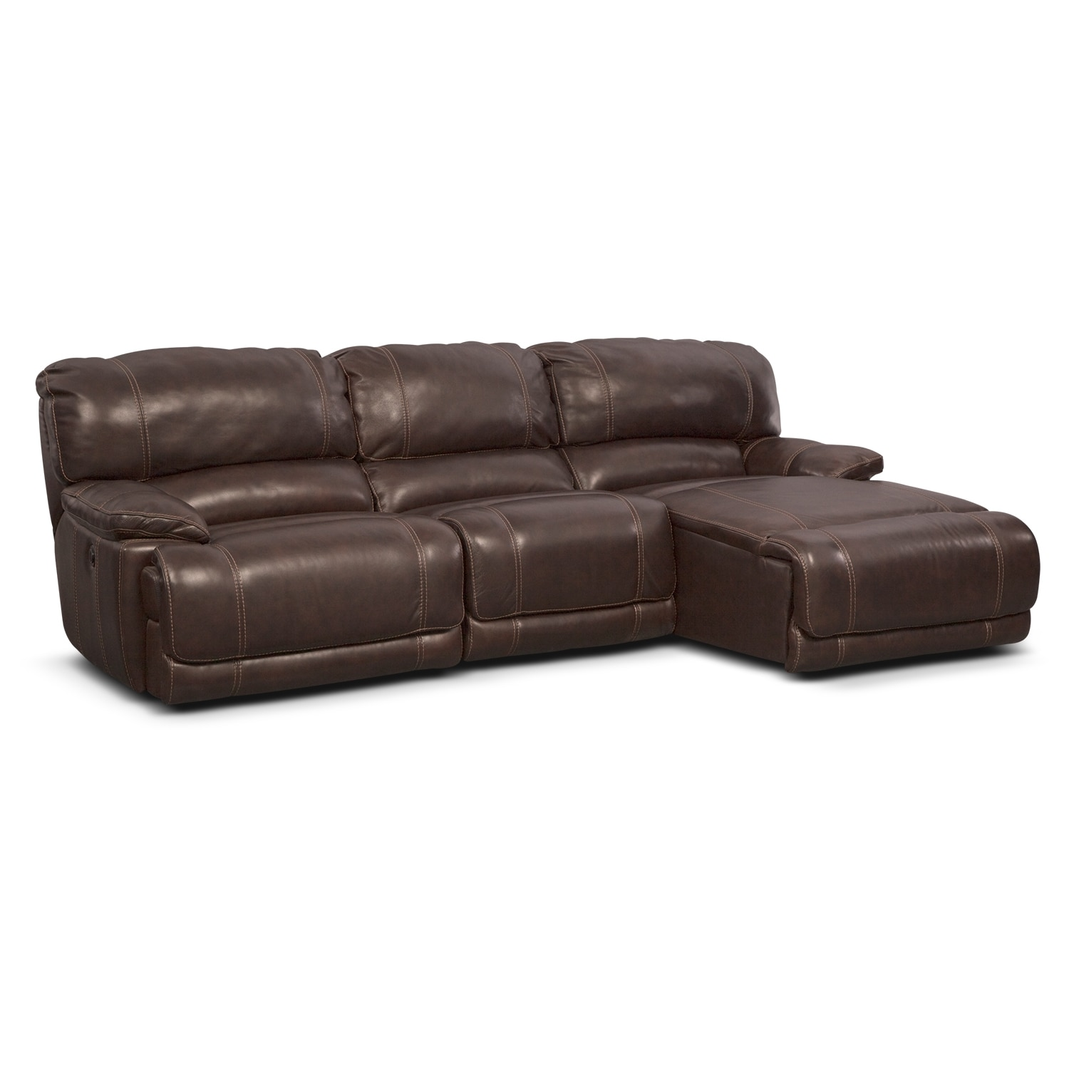 St. Malo 3-Piece Power Reclining Sectional with Chaise
