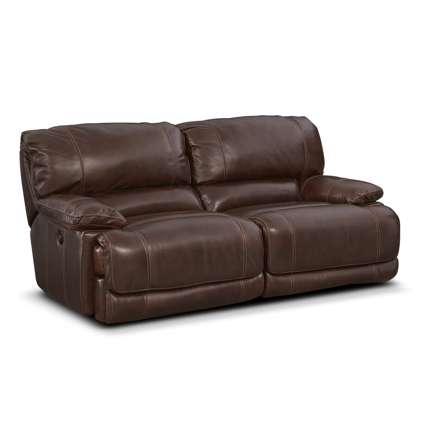 ... Reclining Sofa - Brown. Hover to zoom  sc 1 st  Value City Furniture & St. Malo Power Reclining Sofa - Brown | Value City Furniture islam-shia.org