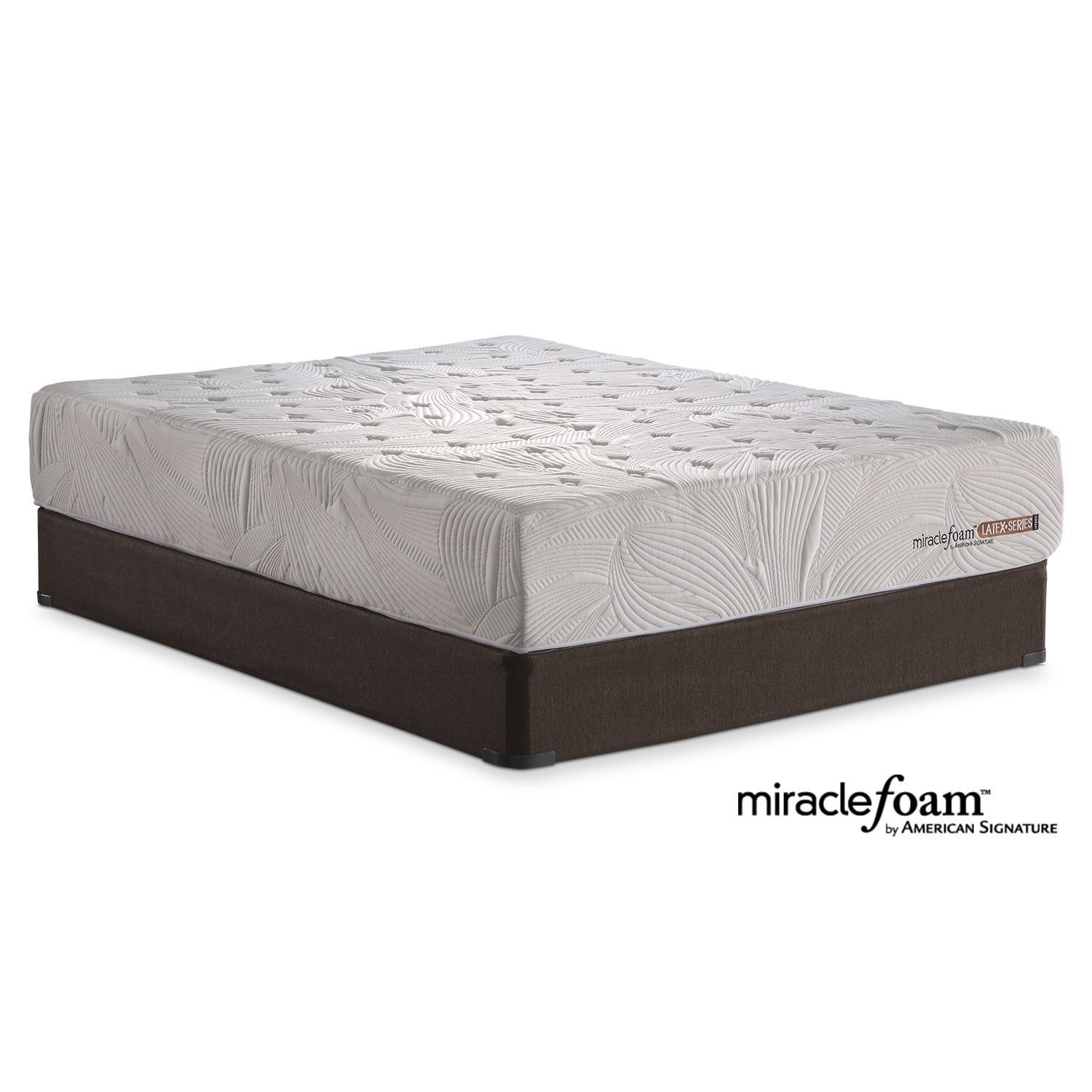 Mattresses and Bedding - Bliss Queen Mattress/Foundation Set