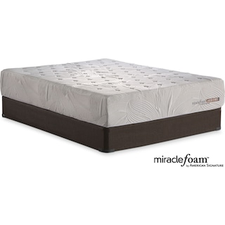 Bliss Full Mattress and Foundation Set