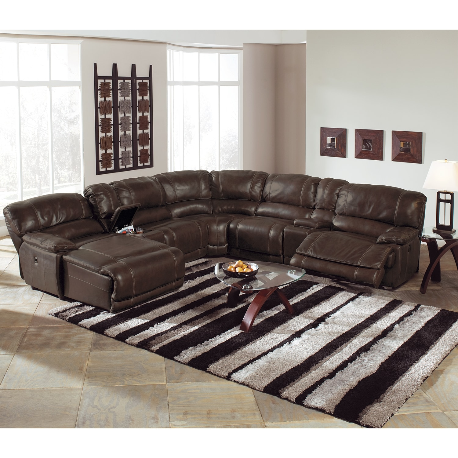 St Malo 6 Piece Left Facing Power Reclining Sectional