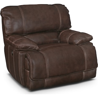 St. Malo Power Recliner - Brown