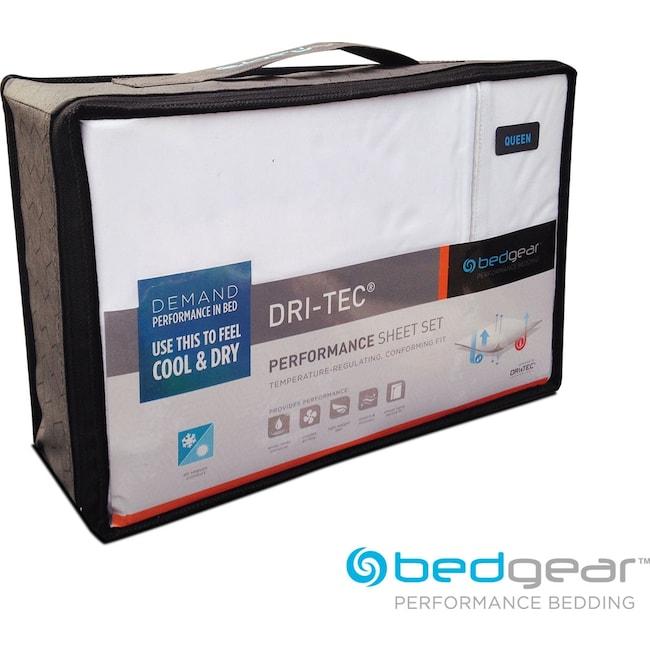 Mattresses and Bedding - Dri-Tec® Performance King Sheet Set