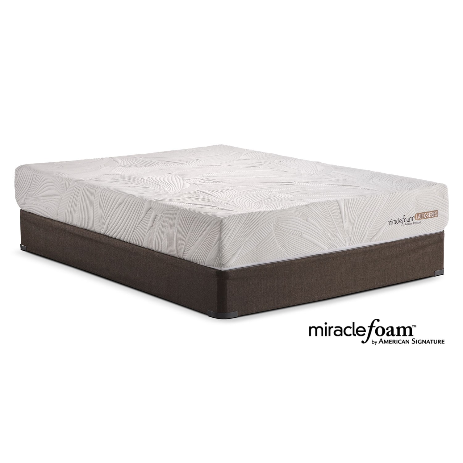 Mattresses and Bedding - Tranquil Full Mattress/Foundation Set