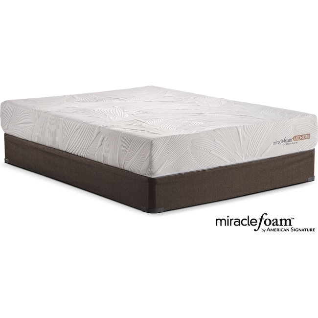 Mattresses and Bedding - Tranquil Queen Mattress and Split Foundation Set