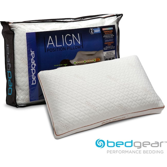 Mattresses and Bedding - Align III Jumbo/Queen Back Pillow