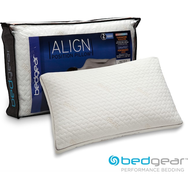 Mattresses and Bedding - Align Jumbo/Queen Stomach Pillow