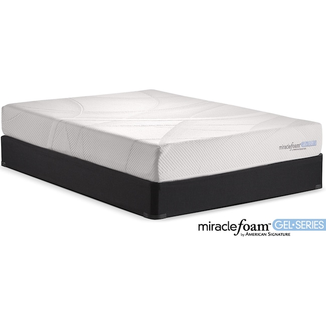 Mattresses and Bedding - Rejuvenate II Firm King Mattress and Split Foundation Set