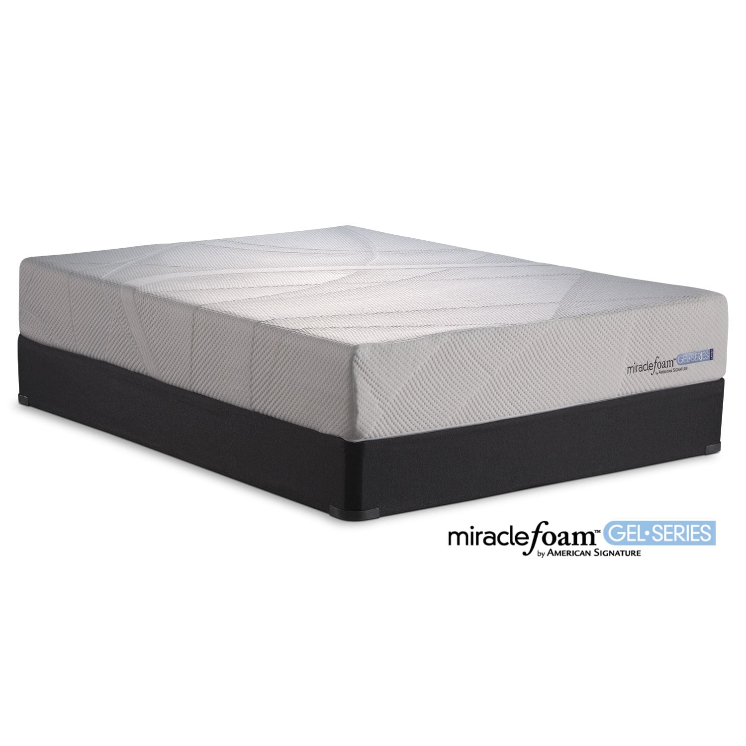 Mattresses and Bedding - Invigorate II Twin Mattress and Foundation Set