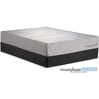 Invigorate II Queen Mattress and Split Foundation Set