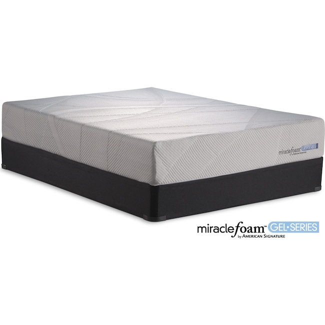 Mattresses and Bedding - Invigorate II Queen Mattress and Foundation Set