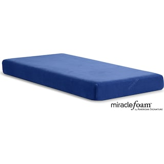 Renew Blue Twin Mattress w/ Cover