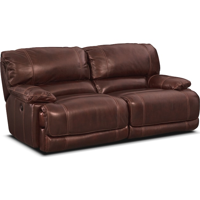 Living Room Furniture - St. Malo 2-Piece Power Reclining Sofa