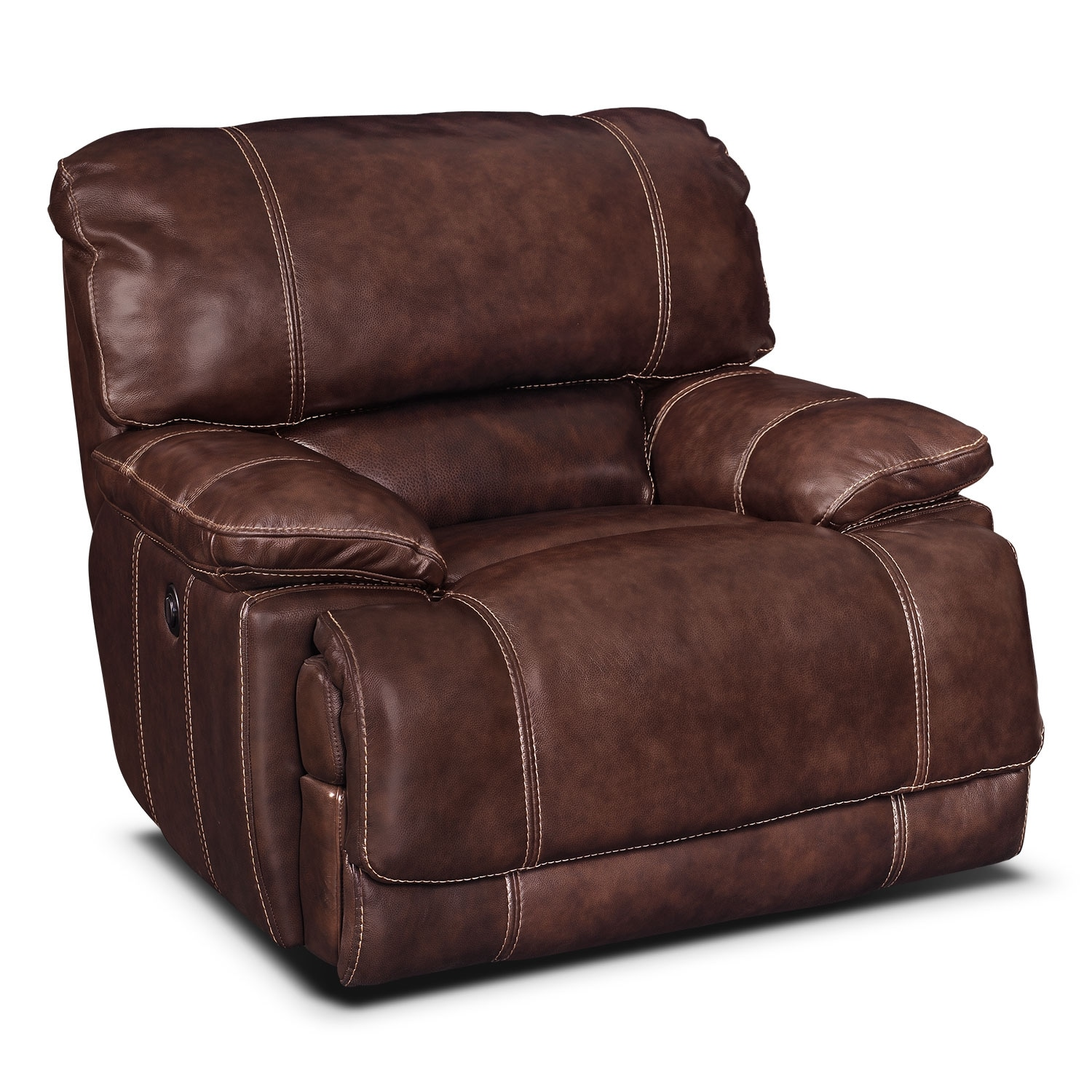 Living Room Furniture - St. Malo III Power Recliner