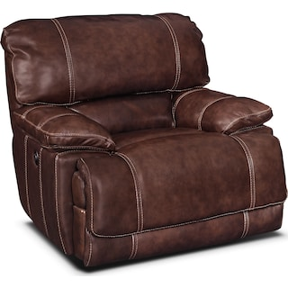 St. Malo Power Recliner - Burgundy