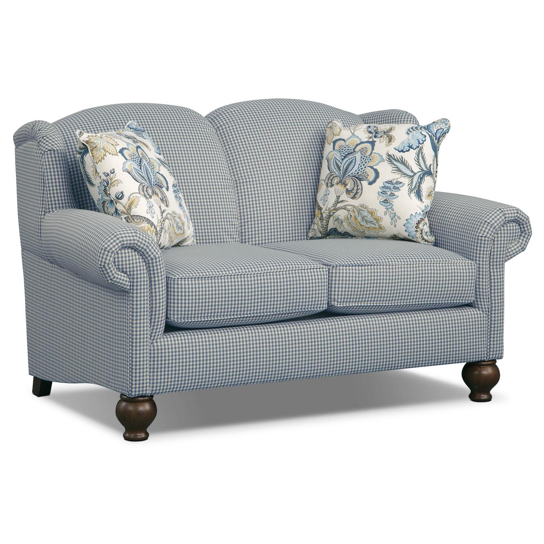 Living Room Furniture - Charlotte III Loveseat