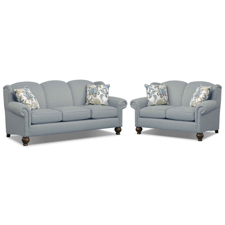 Living Room Furniture - Charlotte III 2 Pc. Living Room