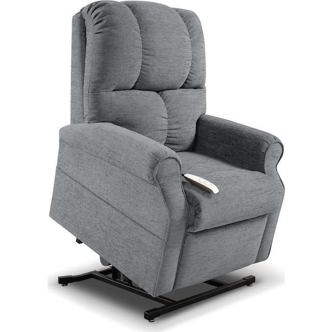 Living Room Furniture - Tillie Lift Chair - Gunmetal