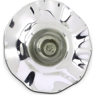 "Mercury Silver 19"" Wall Décor"