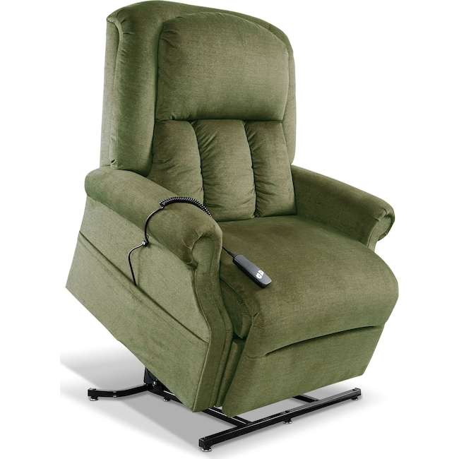 Living Room Furniture - Carol Lift Chair - Forest