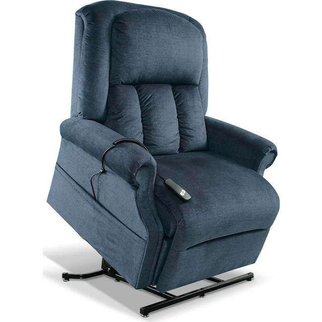 Living Room Furniture - Carol Lift Chair - Ocean