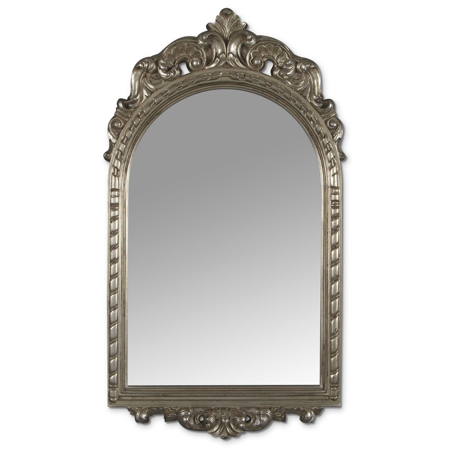 Kelsey Mirror - Antique Silver