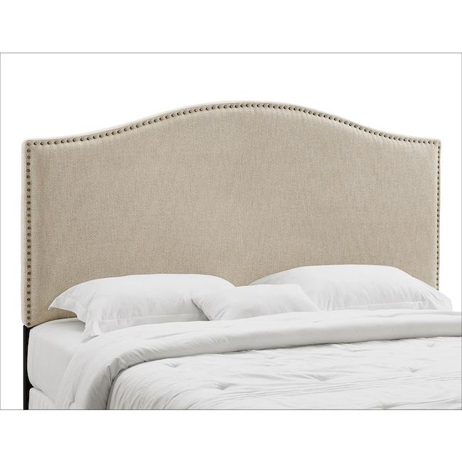 Bedroom Furniture - Wyatt King/California King Headboard - Linen