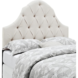 Castle Peak Full/Queen Headboard - Linen