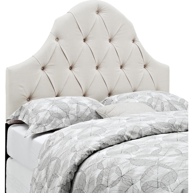 Bedroom Furniture - Castle Peak Full/Queen Upholstered Headboard