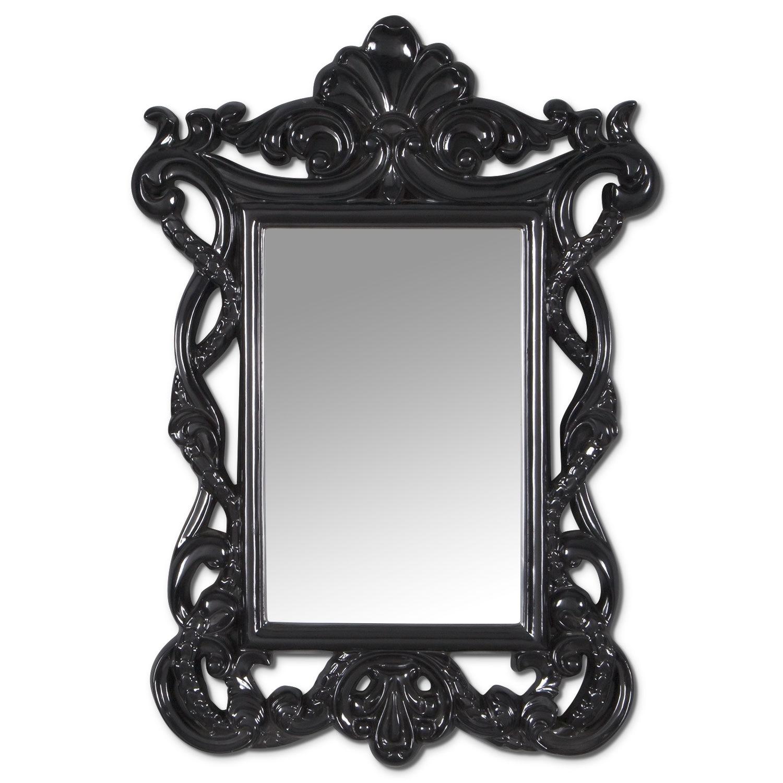 Home Accessories - Veronica Mirror (Black)