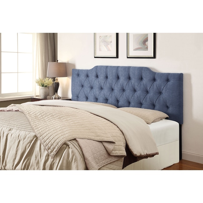 Bedroom Furniture - Smith King/California King Headboard - Denim