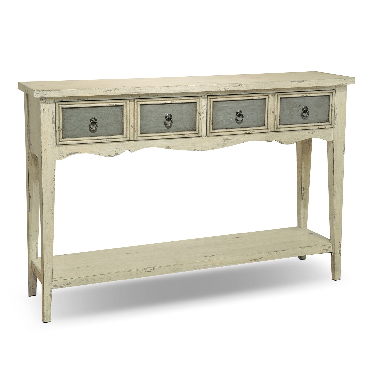 antique white sofa table. Accent And Occasional Furniture - Baylee Sofa Table Antique White Gray Antique White Sofa Table A