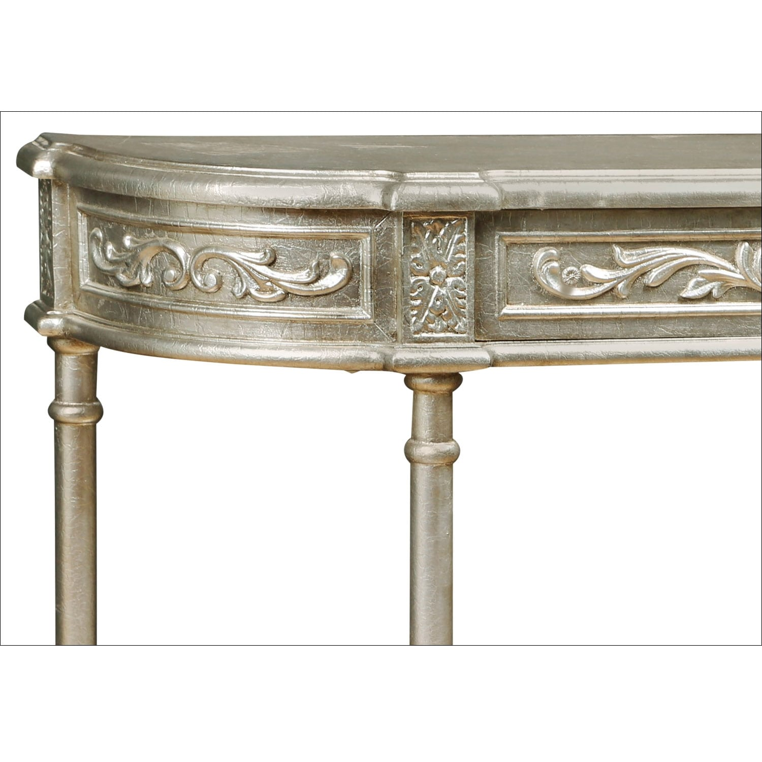 Athens sofa table silver leaf value city furniture and mattresses click to change image geotapseo Images